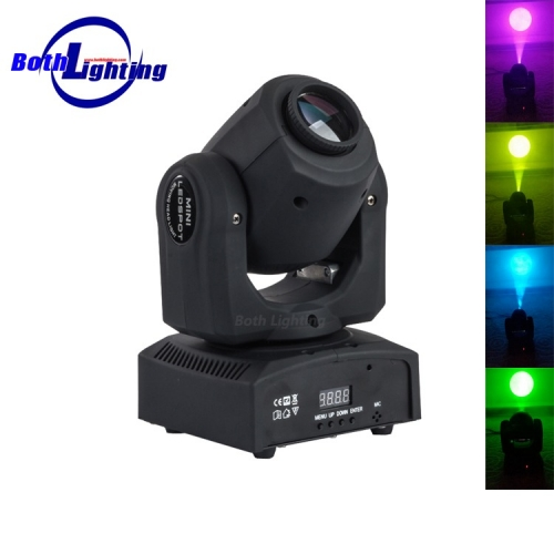 Micro Powerful 30w LED Mover Spot mini moving head Light