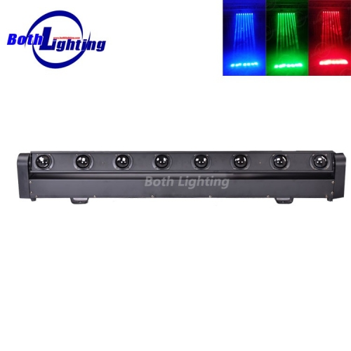 8*10W RGBW 4in1 LED beam moving head bar light