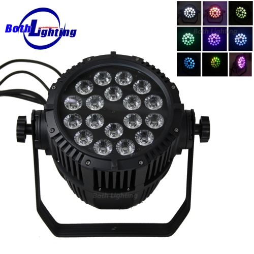 IP65 Waterproof 18*18W RGBWA UV 6in1  LED Par Light