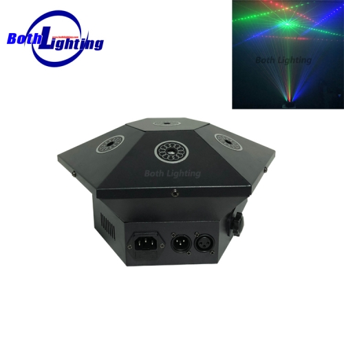 7 Lens RGB Laser Beam Light