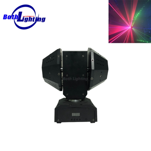 10 lens RGB Laser Effect moving head light