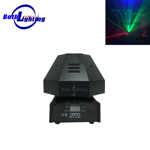 9 Lens RGB Rotating Laser Move Beam Light