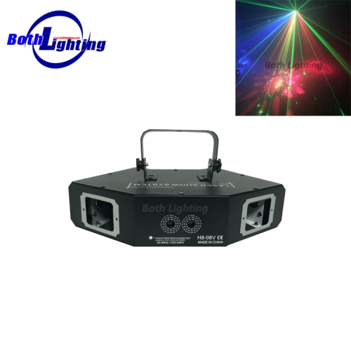 RGB full color Laser effect light