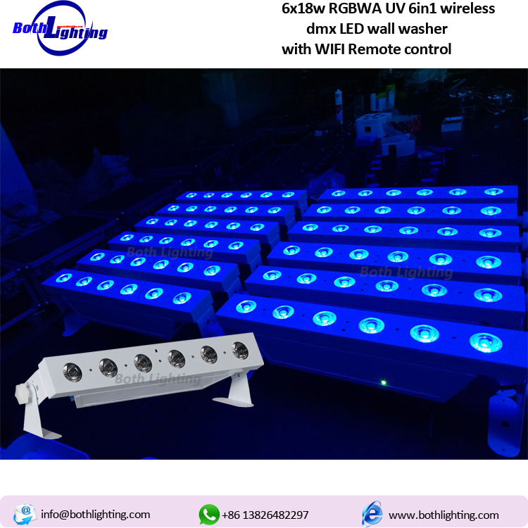 Know more about our wireless dmx LED wall washer  l BOTH LIGHTING