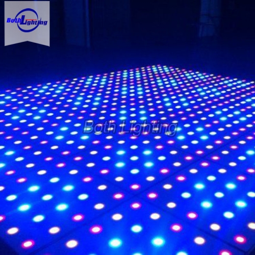 64 dots Wireless led dgital dance floor