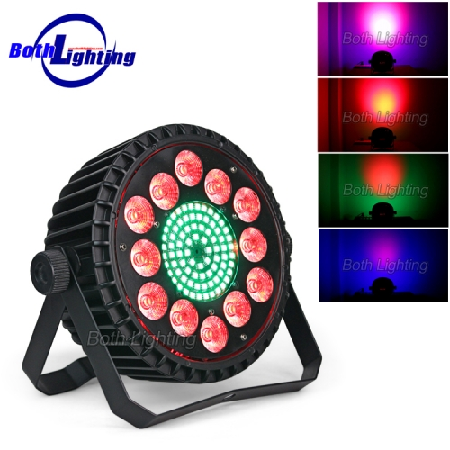 12 LEDs colorful par light