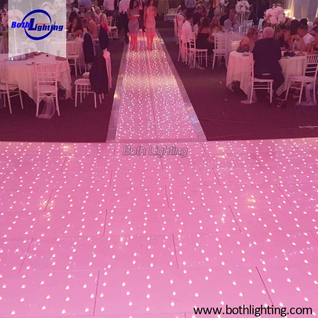 An LED Dance Floor Makes For An Exciting Thing For Your wedding Event