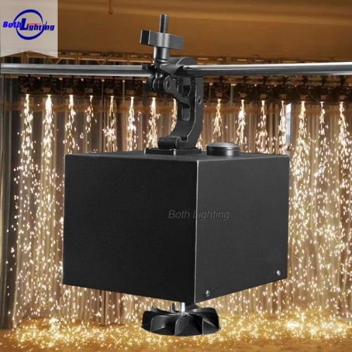 Superior quality 400w Rotating spark Fireworks Machine For Party Wedding Stage