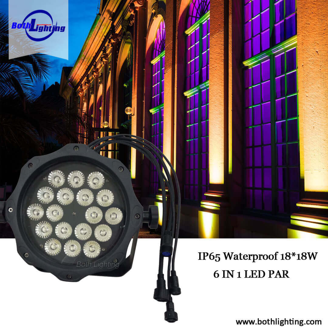 LED PAR LIGHT UP YOUR EVENT!